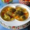 Суп из тыквы, кабачков и брокколи