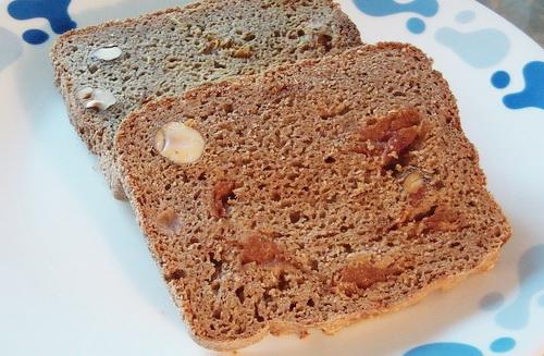 Фруктовый хлеб с курагой и фундуком
