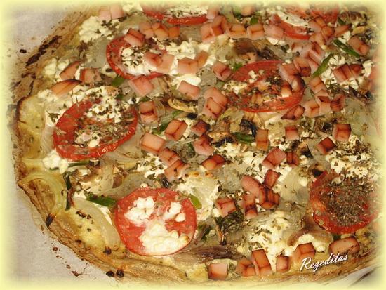 Пицца из тофу