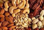 Продукты содержащие клетчатку - Орехи