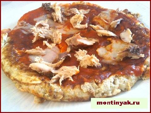 Овощная пицца из цветной капусты