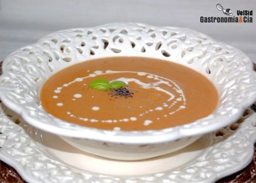 суп пюре из красной чечевицы с карри